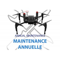 Annual maintenance pack for the IDRsys system for DJI Matrice 100