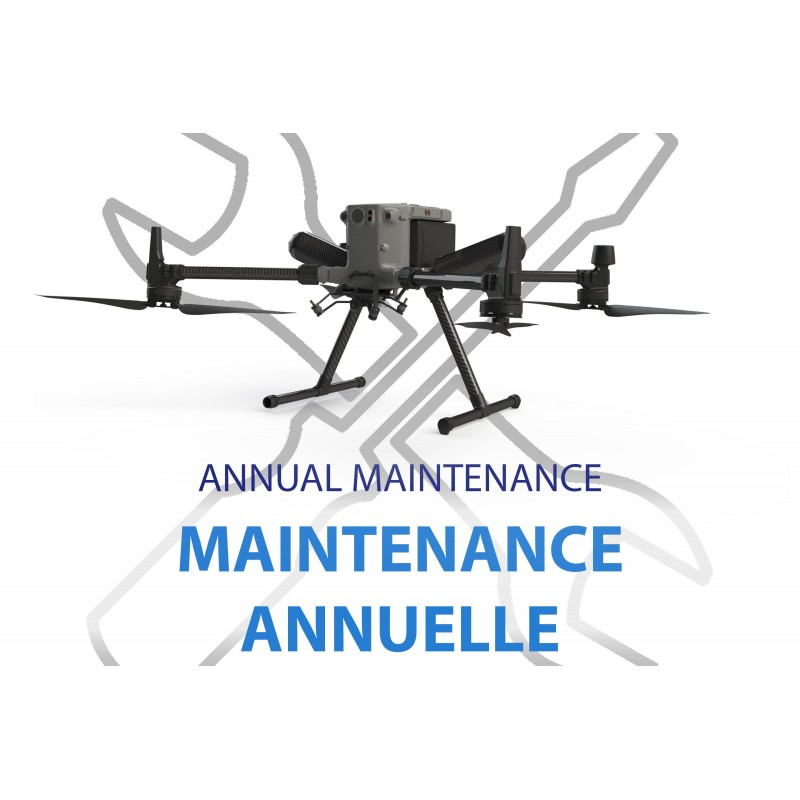 Annual maintenance pack for the Zephyr double parachute system for DJI Matrice 300 RTK